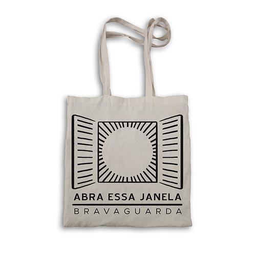 """Ecobag """"Abra Essa Janela"""""""