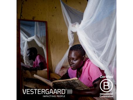 Vestergaard obtient la certification B Corporation®