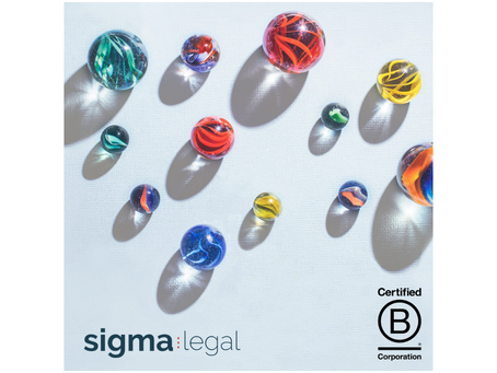Sigma legal awarded with B Corp™ certification