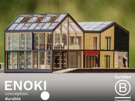 [FR] ENOKI est certifiée B Corporation®