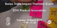 SDG Product Innovation - STI Thematic Ev