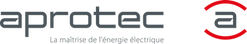 Logo Aprotec horizontal avec baseline (1