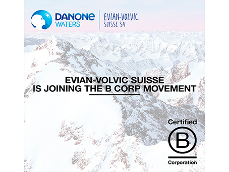 [EN] Evian-Volvic Suisse joins the B Corp Movement