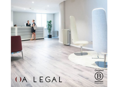 [EN] OA Legal is the first Swiss law firm to receive the B Corporation® certification