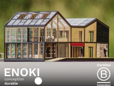 ENOKI wird als B Corporation® zertifiziert