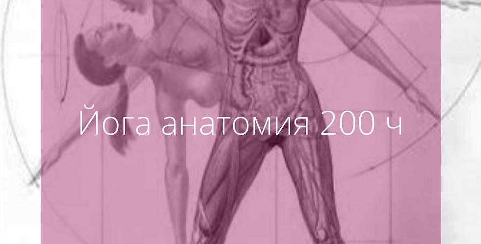 200 ч   АНАТОМИЯ НА ЙОГА ЗА УЧИТЕЛИ