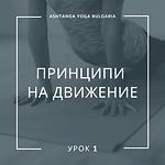 Principles of Movement Lesson 1
