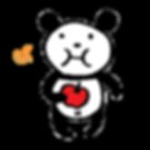 LINEスタンプ 「愛くるしいクマのパンダさん」