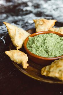 צ'אטני ירוק עם מנגו וקוקוס – המתכון של הודו זה כאן