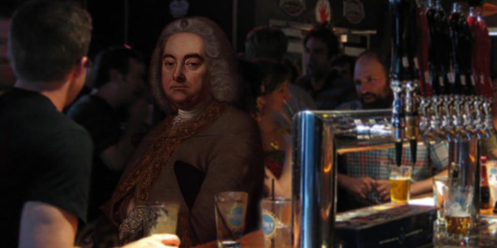 Mr. Händel im Pub