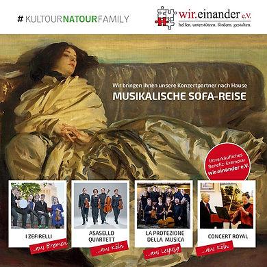 KULTOUR&NATOUR Musikalische Sofa-Reise
