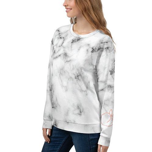 "Marble ""Peach""  Sweatshirt - Unisex"