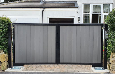 Yorkshire Fabricated Composite Automated Gate