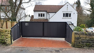 Yorkshire Bespoke Composite Automated Gate
