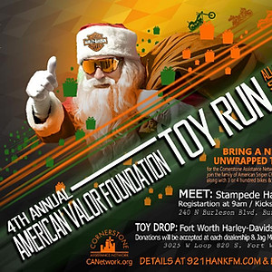 4th Annual American Valor Toy Run