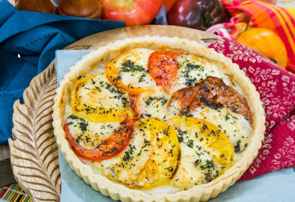 Tomato and Herb Pie