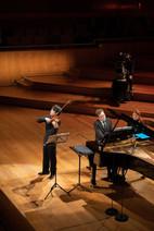 Stephen Kim plays Brahms violin Sonata no. 3 at Queen Elisabeth.