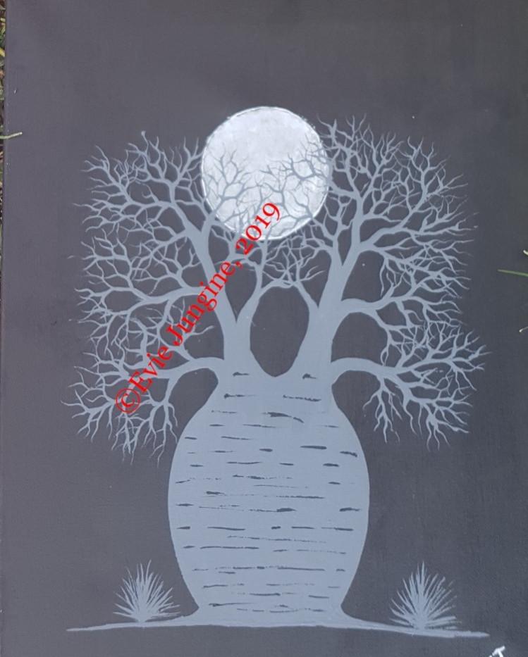 """""""Kimberley Boab Tree in the Moonlight"""" ~ 2019"""