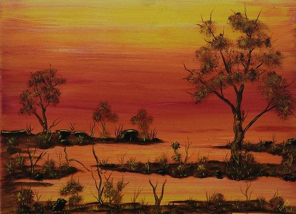 "CH 021 ""Bardi Sunset Dreaming"" - Craig Hajinoor, Broome"