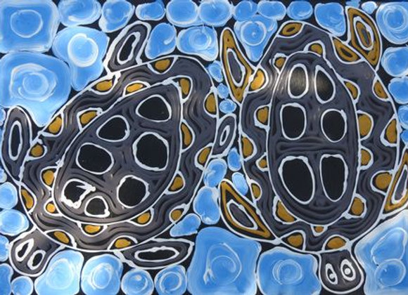 """Saltwater Turtles Dreaming"" ~ Anthony Hansen, Broome"