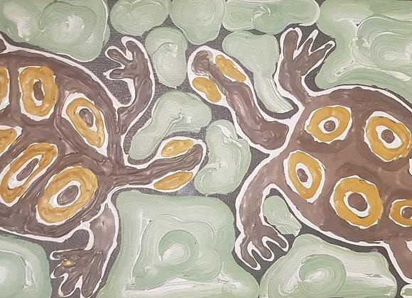 "AH 006 ""Two Turtles"" - Anthony Hansen, Broome"