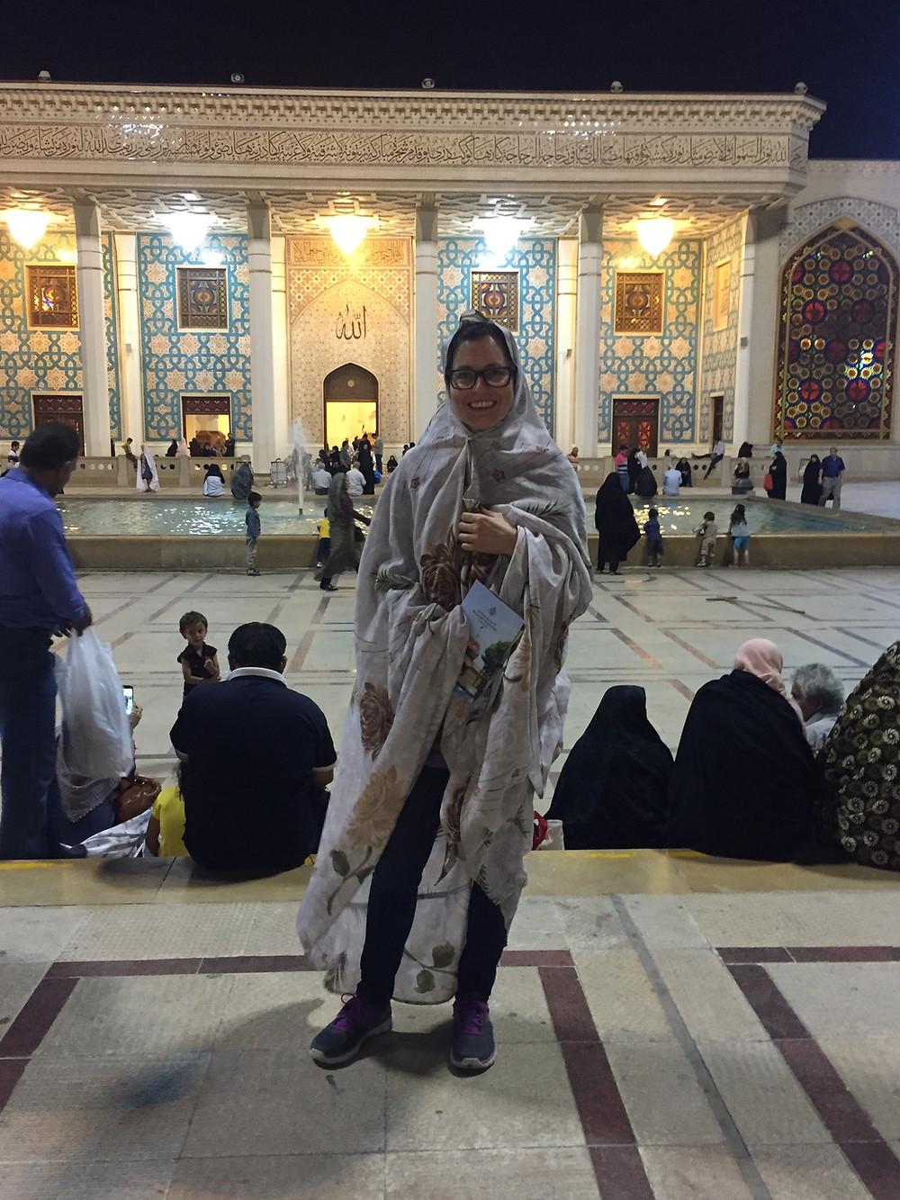 Der Chador kommt den iranischen Frauen definitiv besser als mir.