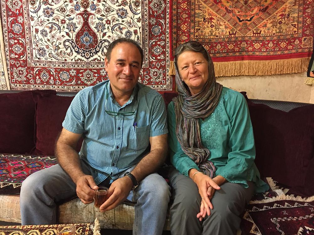 Lucia mit Hussein