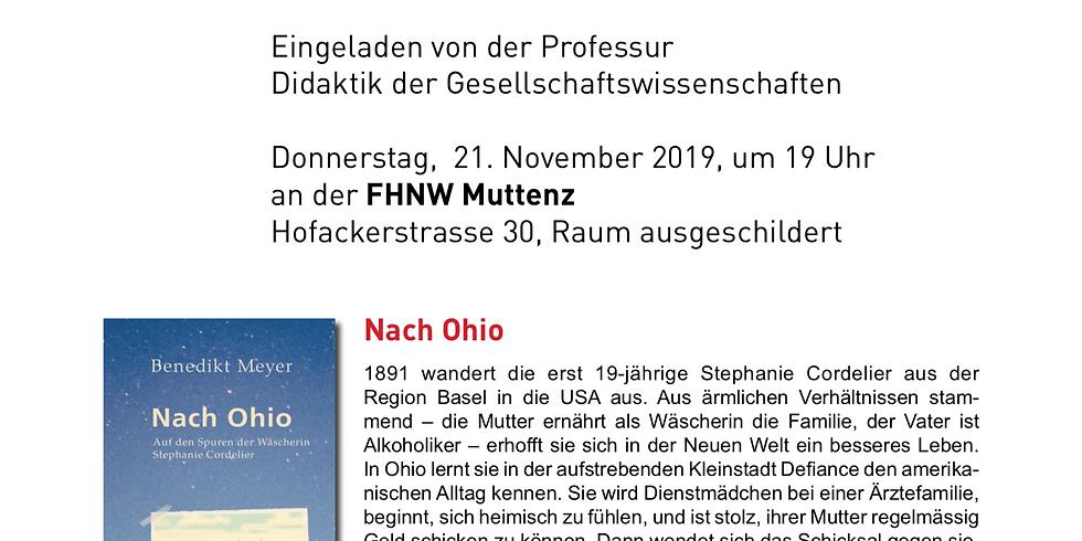 Lesung  von Benedikt Meyer