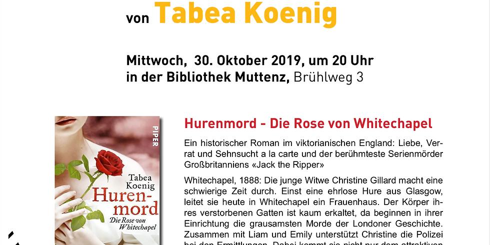 Lesung von Tabea Koenig