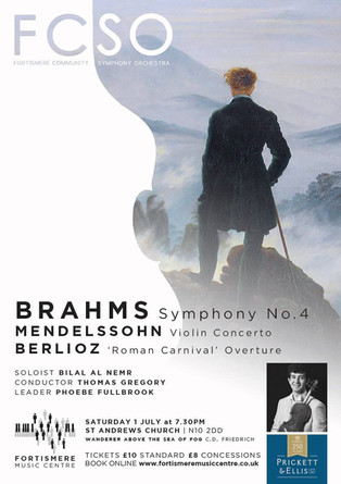 Fortismere Community Symphony Orchestra   Brahms, Mendelssohn & Berlioz