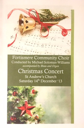 Fortismere Community Choir   Christmas Concert