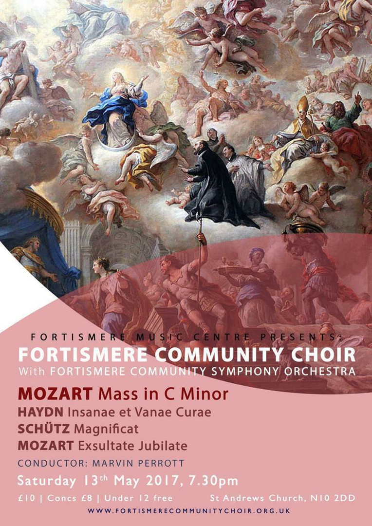 Fortismere Community Choir & Symphony Orchestra | Mass in C Minor