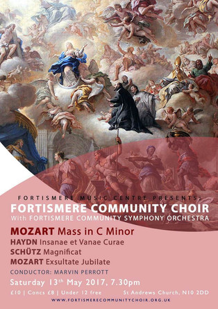 Fortismere Community Choir & Symphony Orchestra   Mass in C Minor
