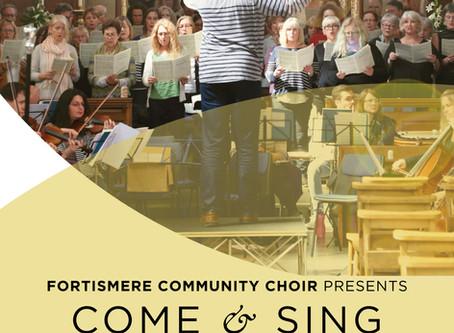 Fortismere Community Choir Autumn 2018