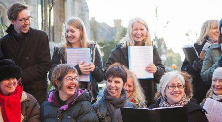 Christmas Carolling in Muswell Hill