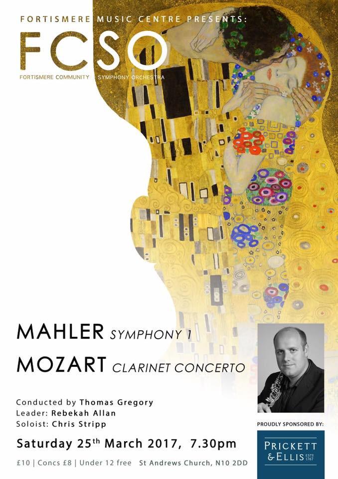 Fortismere Community Symphony Orchestra | Mahler & Mozart