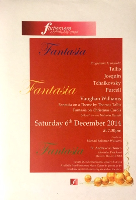Fortismere Community Choir | Fantasia