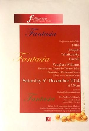 Fortismere Community Choir   Fantasia