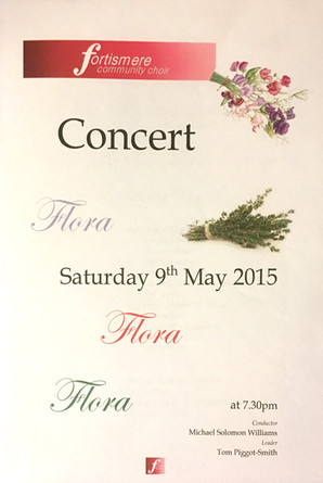 Fortismere Community Choir   Flora
