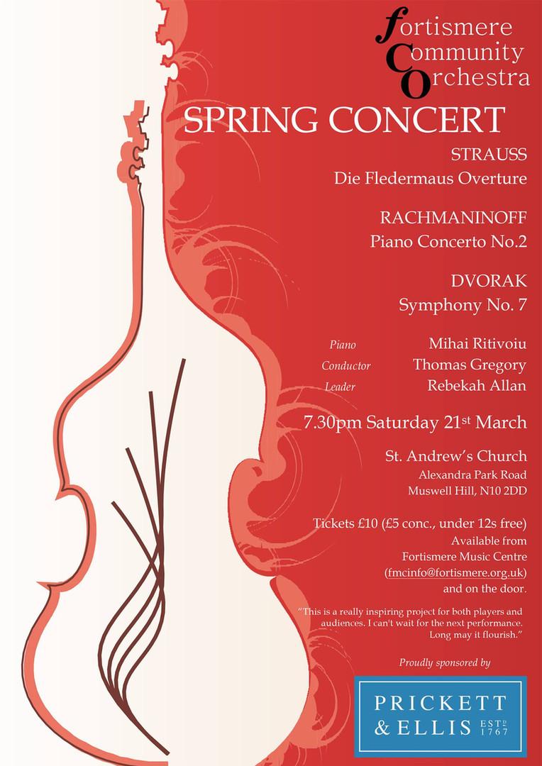 Fortismere Community Symphony Orchestra | Spring Concert