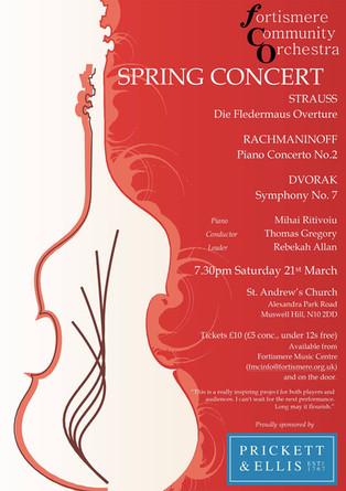 Fortismere Community Symphony Orchestra   Spring Concert