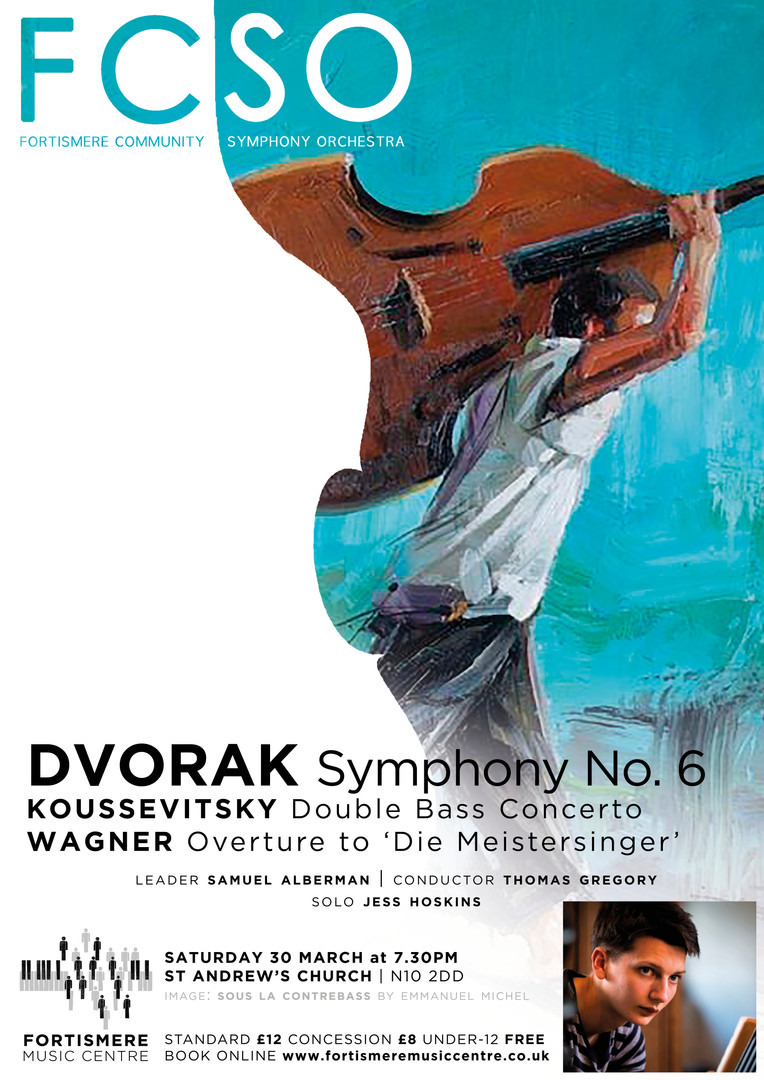Fortismere Community Symphony Orchestra | Dvorak, Koussevitsky & Wagner
