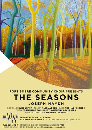 Fortismere Community Choir & Symphony Orchestra   The Seasons