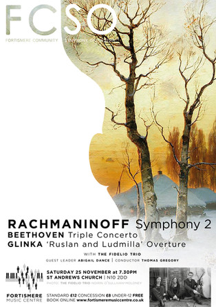 Fortismere Community Symphony Orchestra   Rachmaninoff, Beethoven & Glinka