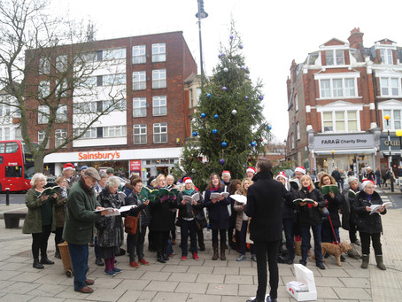Charity Christmas Carols in Muswell Hill