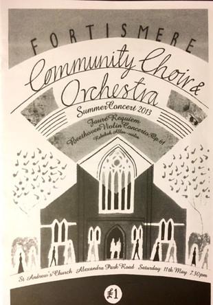 Fortismere Community Choir   Summer Concert
