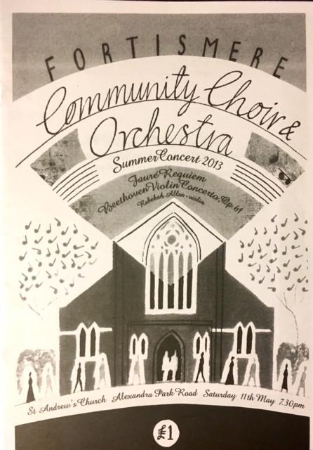 Fortismere Community Choir | Summer Concert