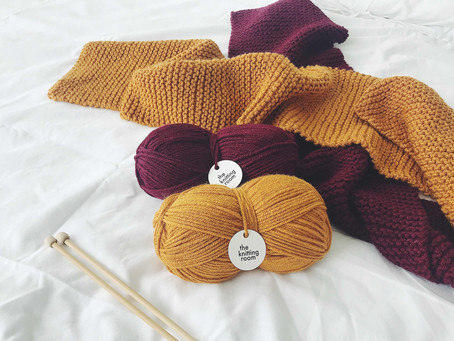 Knitting Pattern: Harry Potter Scarf