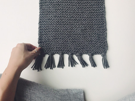 Put A Tassel On It: Easy DIY For Adding Tassels To Your Knits