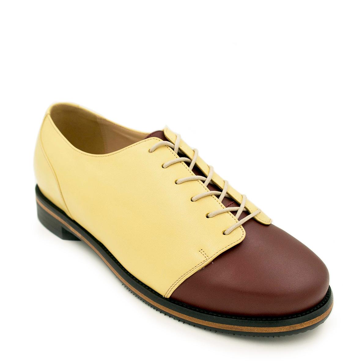 Derby-Round-Plain-Urbino-Brown-yellow